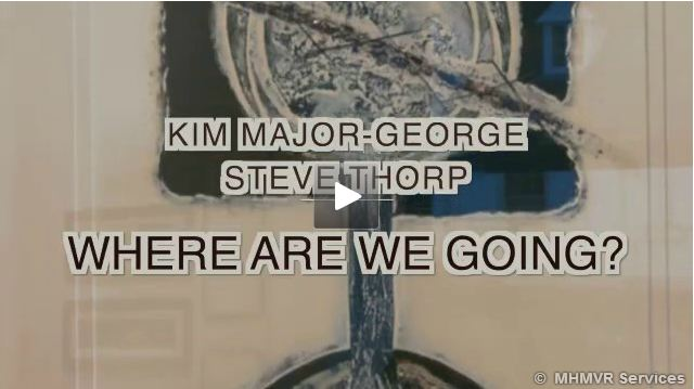 Kim Major-George and Steve Thorp