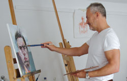Paul-Fennell-in-his-studio