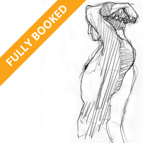 Life Drawing Fully Booked