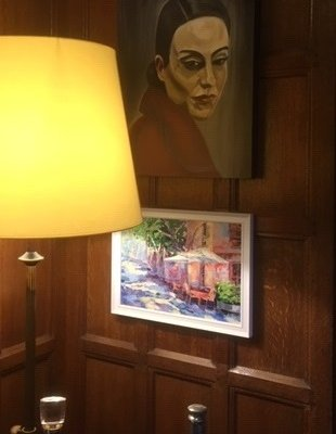 Courtyard Arts Exhibit at Hanbury Manor