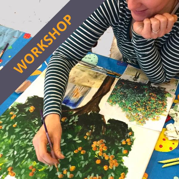 Acrylics Easter Workshop