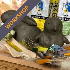 Easter airdrying clay workshop