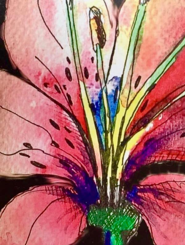 Deana Flower Drawing Workshop