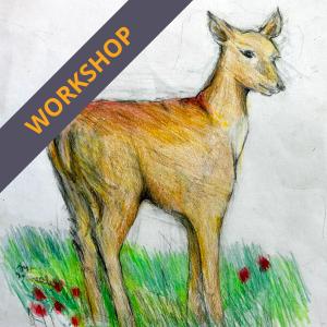 Easter animal drawing workshop