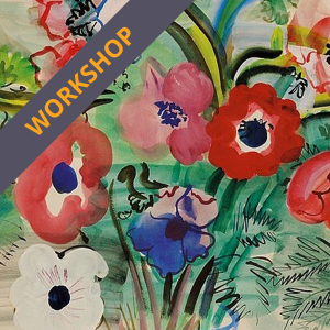 Watercolour flowers workshop