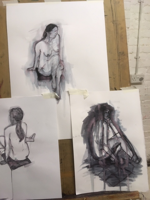 Life Drawing at Courtyard
